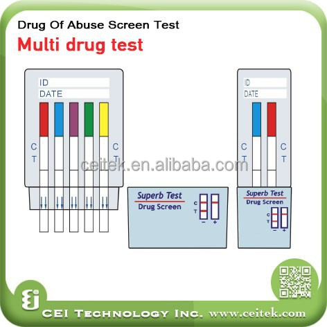 Multi Drug Test, Multi Drug Test Suppliers and Manufacturers