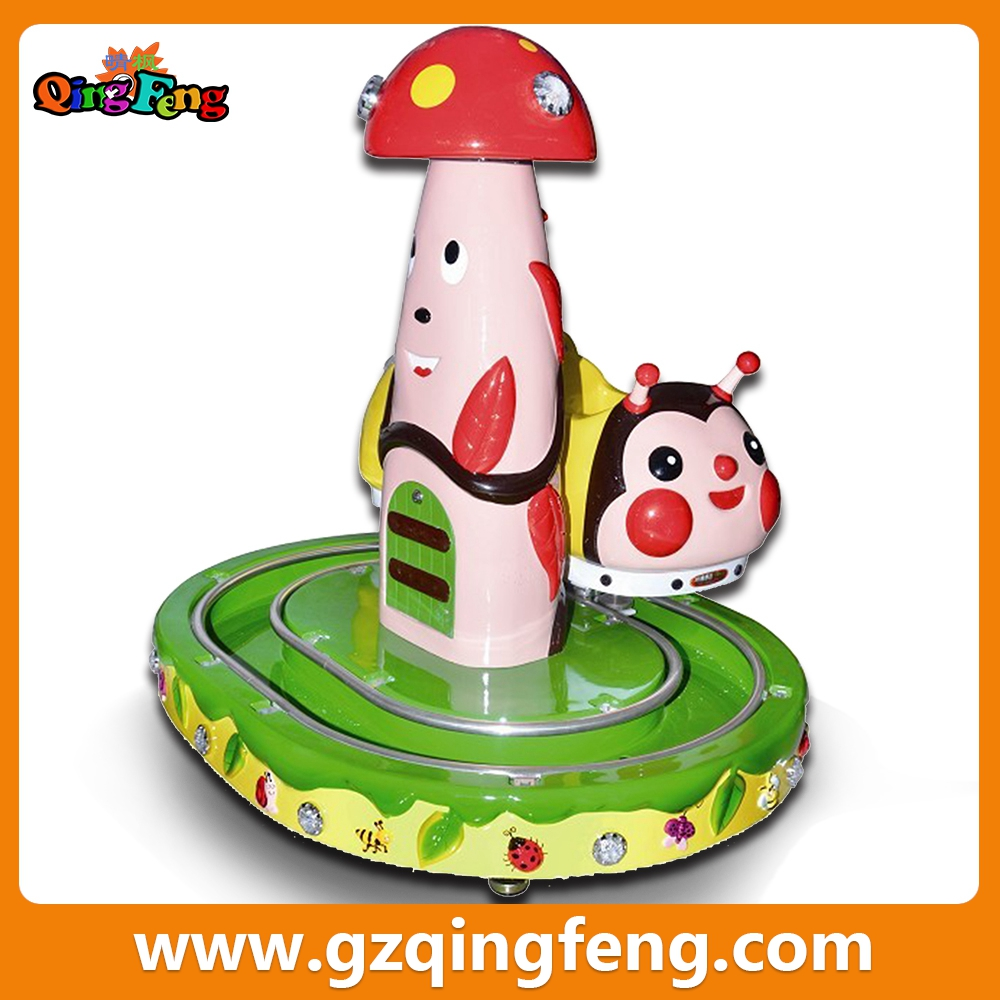 Qingfeng Happy Train 2 Seats baby ride coin pusher games train kiddie rides