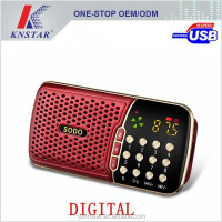 Multimedia mini digital speaker with tf card usb slot SD-901