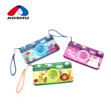 Portable new design pretty pattern magical camera kaleidoscope toy for kids favority