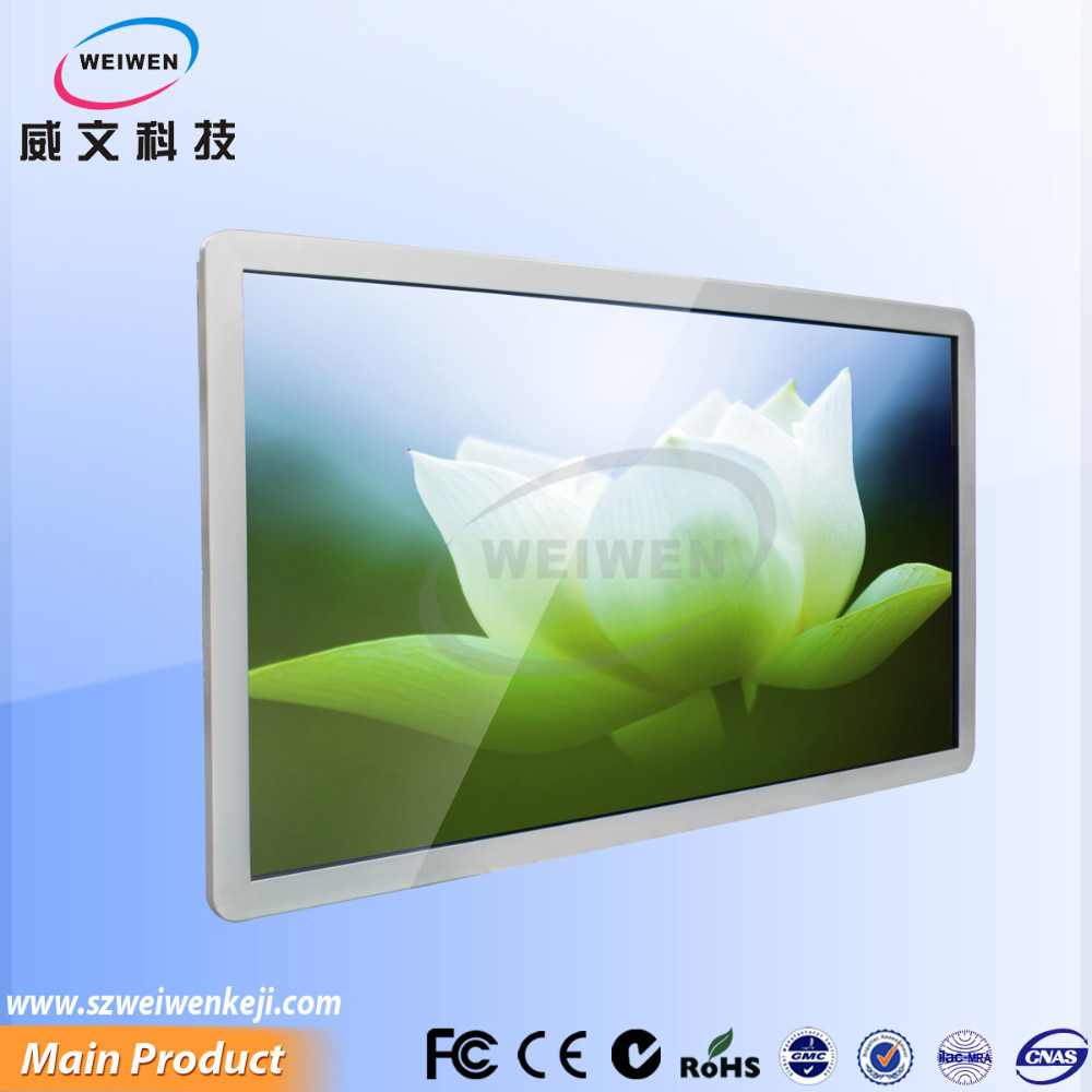 55inch display small lcd monitor /wifi network touch screen lcd advertising player /touch screen panel android kiosk video playe
