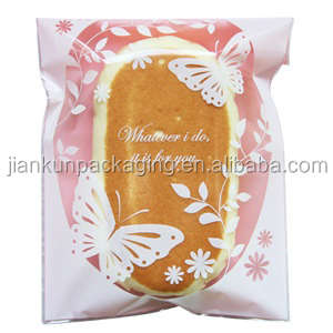 China factory cookies packing clear plastic bag