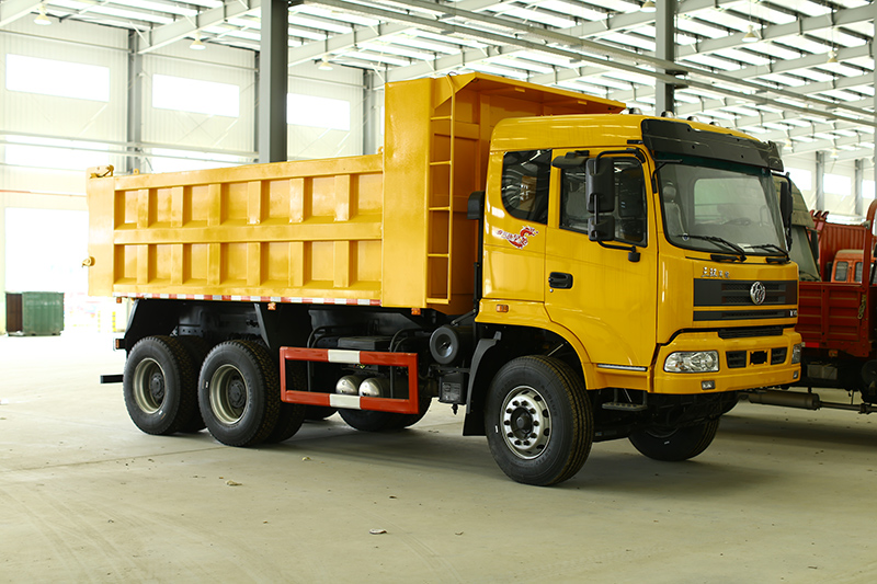 Tri-ring 3 Axle 6X4 Diesel 10 Tires Volume Sand Tipper Truck For Sale/Off-Highway Mining Dump Truck