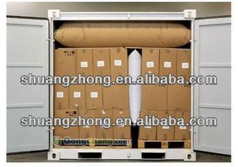 brown kraft paper dunnage air bag for container of China manufacture