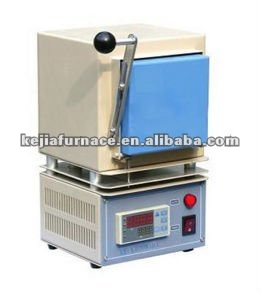 High temperature mini box smelting furnace with MoSi heaters