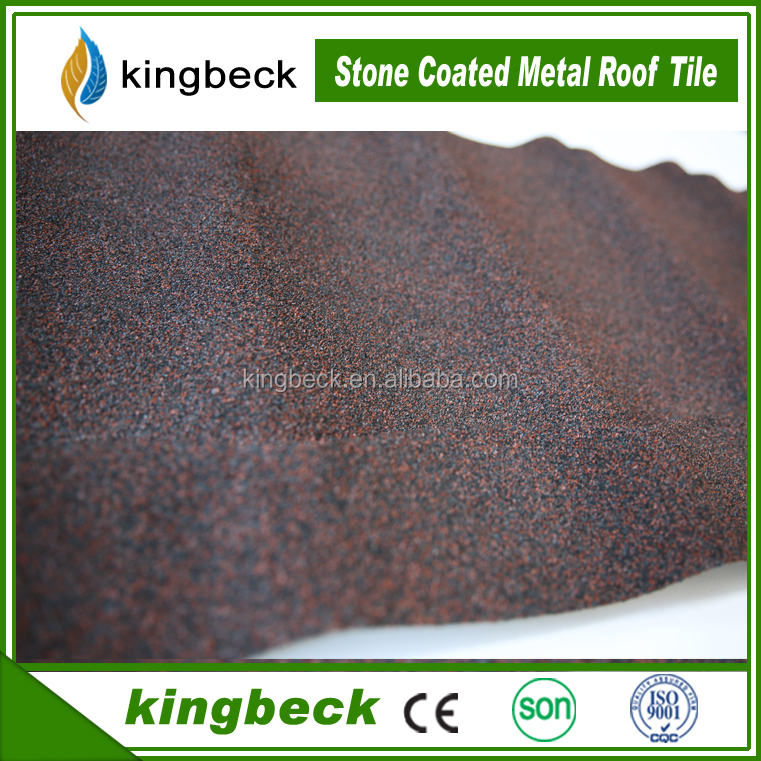 Baikal Colorful stone coated metal roof tile high quality stone coated roof tile