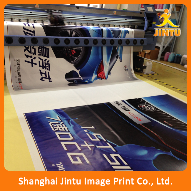 Cheap building hanging banner/ wall display advertising banner flags