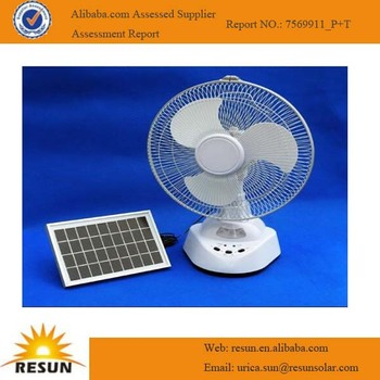 2014 high efficiency solar rechargeable fan