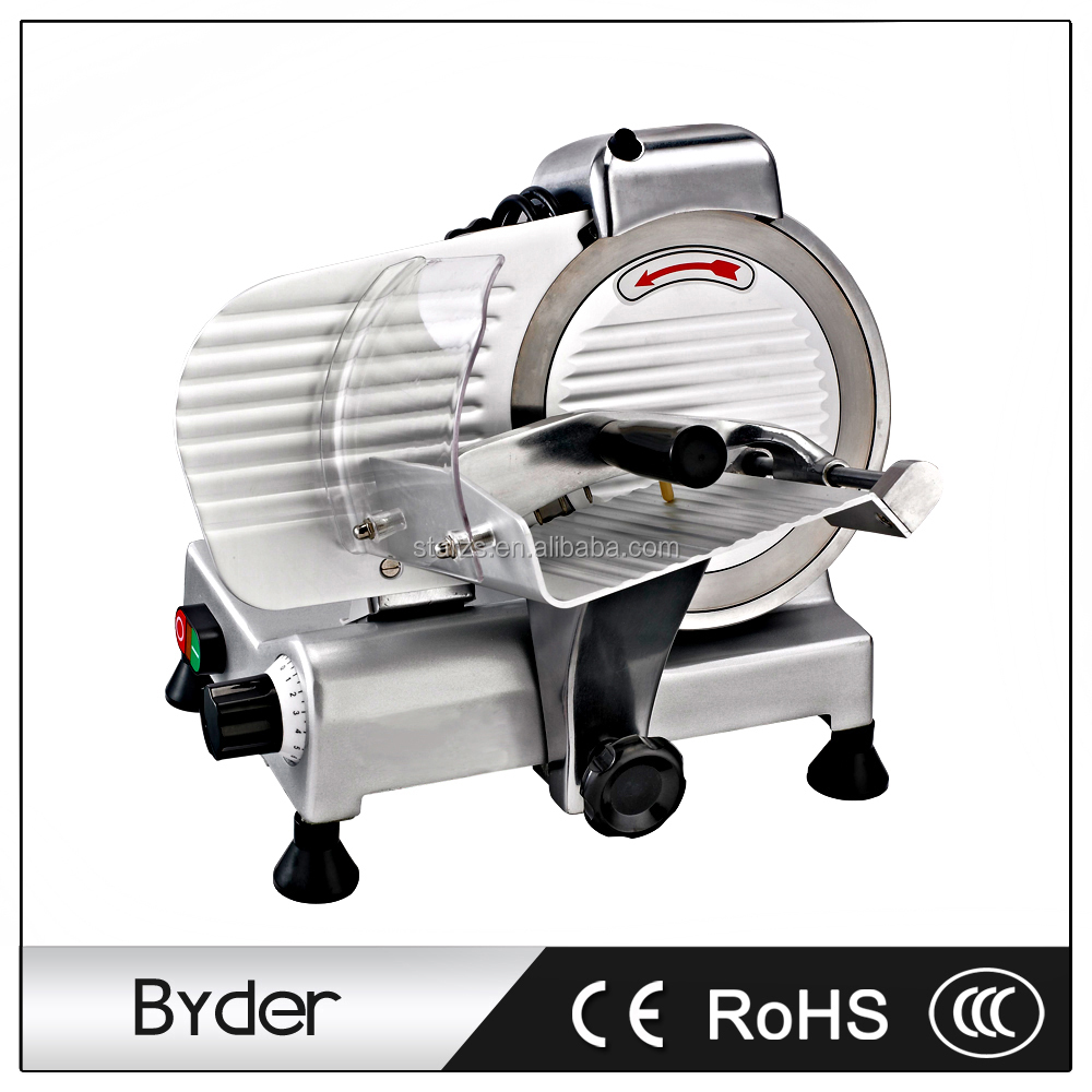 8 Inch Small Electric Semi-automatic Frozen Meat Cutting Machine Slicer