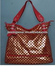 Fashion lady leather cross shoulder bag for shopping and promotiom,good quality fast delivery