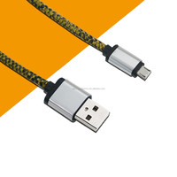 snake skin pu leather material unique design mobile phone data cable for charging usb