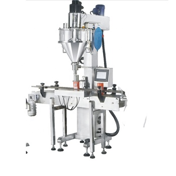 Automatic ground cinnamon bottle powder filler