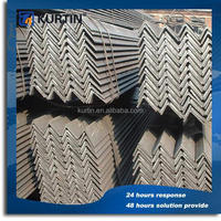 low cost a36 steel zinc angle with TUV cetificate