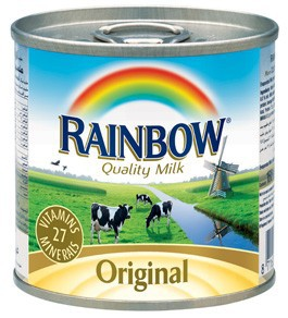 Brand: 170G Rainbow Evaporated Milk 8.5% (100% Holland Milk)