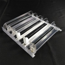 Automatic bottle drinkplastic shelf pusher with spring kit for supermarket