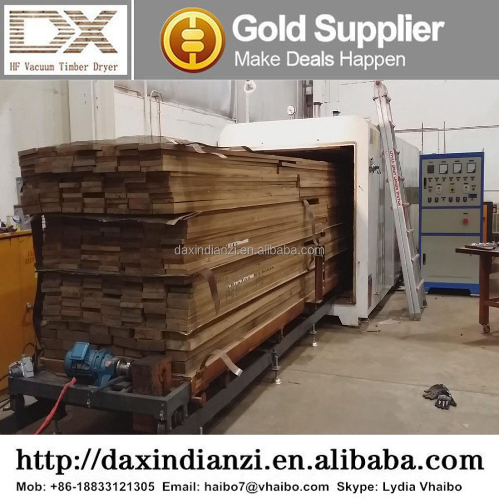 GZ-3.0-20.0III-DX Lumber Drying Kiln Plans, High Frequency Woodworking Machinery