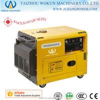 3kw/kva-6kw/kva Power Air Cooled Silent Cheap Portable Diesel Generator