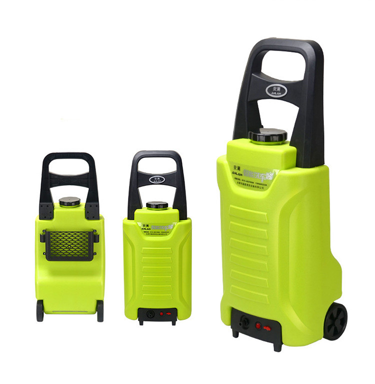 220v high pressure washer rechargeable Lithium Battery self-service commercial washing machine portable washer 12 v