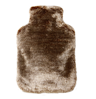 2015 wholesale OEM customed faux fur soft plush hot water bottle with cover BS1970:2012