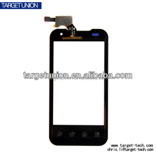 wholesale mobile touch screen digitizer glass panel for LG p990