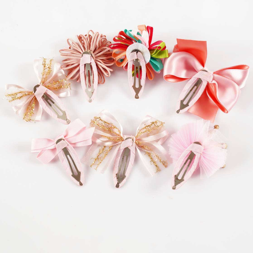 korean children hair clip bow pin hairpin hairpin accessory for girl SET-601-150