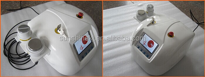 portable beauty equipment for skin tightening/home use fat reduction machine