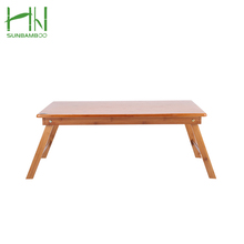 Anti-abrasive custom made bamboo dining table kang folding tea table