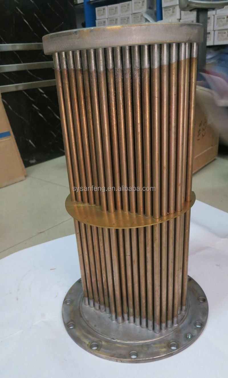 NT855 oil cooler core 3021581