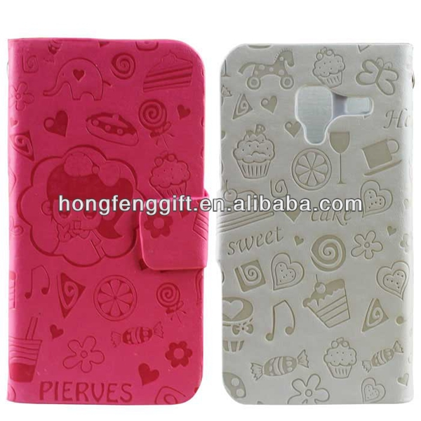new fashion flip leather mobile cover cases for phones