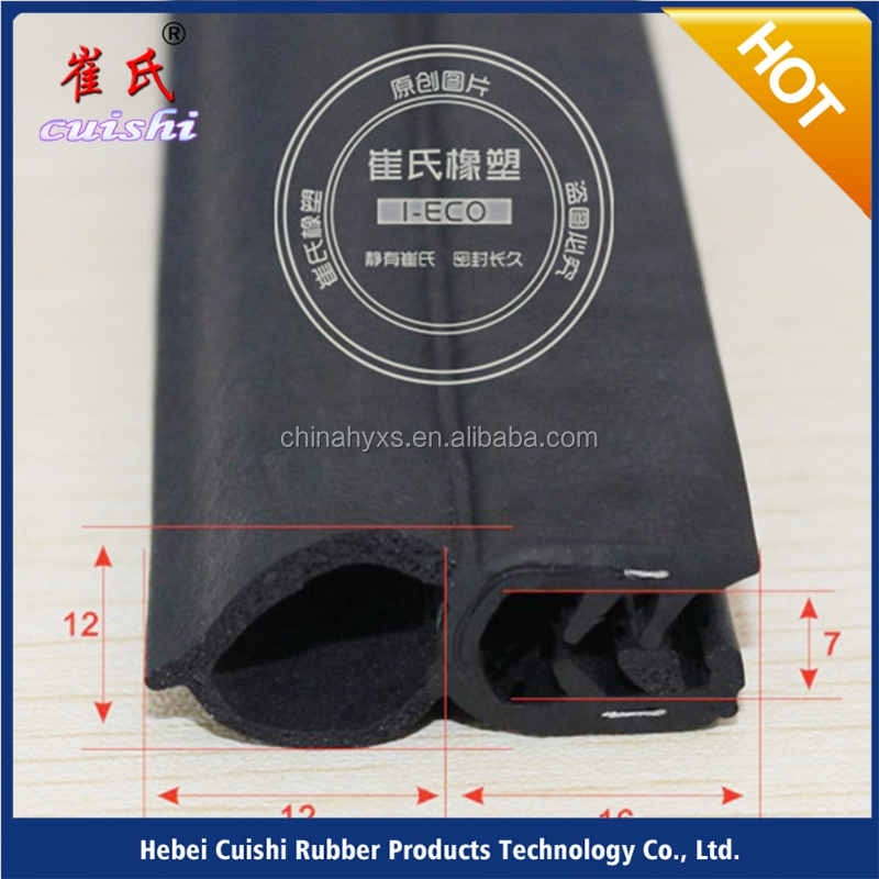 Car engine cover Electric Scooters rubber sealing strip