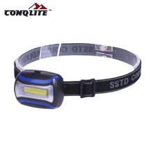 High-Low-Strobe 3 watt high power COB led head lamp,diving headlamp