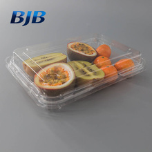Disposable food plastic packaging container sushi tray box