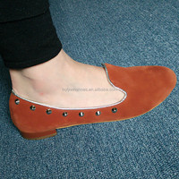 Overstock shoes with rivet,wholesale india graceland shoes