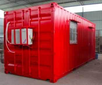 Customized prefab mobile container house for living