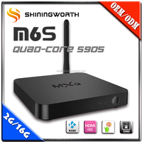 AML S905 android full hd 1080p media player support wifi and ethernet kodi 2G 16G