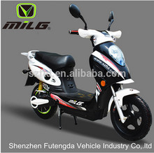 Moped with Pedals Middle Motor Electric Bicycle