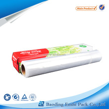 transparent PE protective stretch cling film for pallet wrap