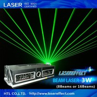 3W green beam laser light(8 beams or 16 beams) for pub, night club, dance hall and indoor laser show