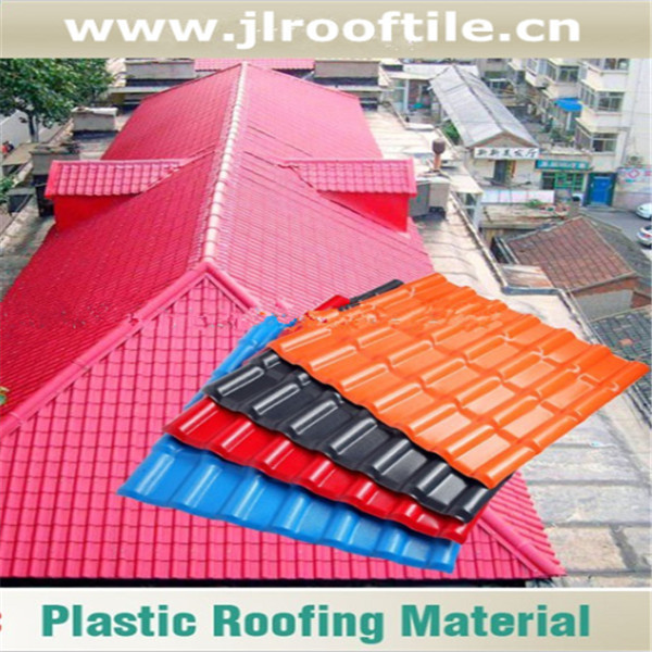 Vinyl Roofing Products /monier villa roof tile /pvc synthetic resin roof tile