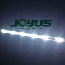 24v 6leds 3535 lens led strip rigid bar aluminum profile led strip bar