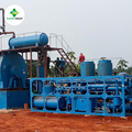 Vacuum Design Used Engine Oil Motor Oil Lubricant Oil Distillation Machine Recycling to Diesel Exported to West Africa