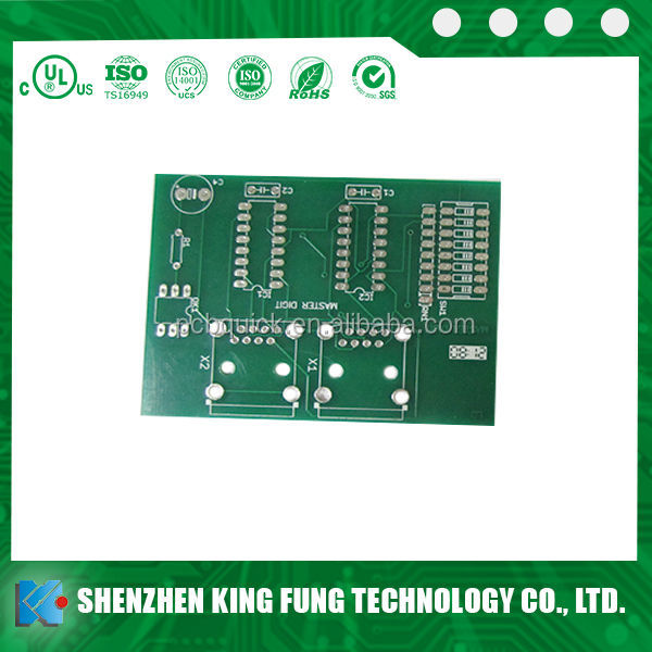 4-layer fr4 pcb, gold-plated mobile phone pcb mother board