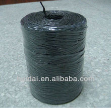 Black color agricultural pp binding twine