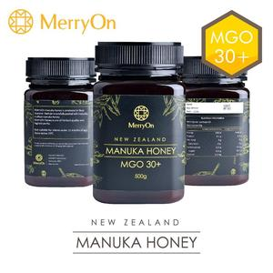 MerryOn New Zealand Manuka MGO 30+ organic 500g raw bulk honey