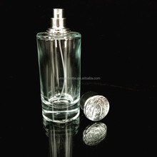 Wholesale clear glass giant perfume bottles for men sale