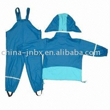 kids' pu raincoat
