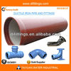 TAWIL ISO2531 DN250MM Ductile iron pipes with coat spray zinc coating
