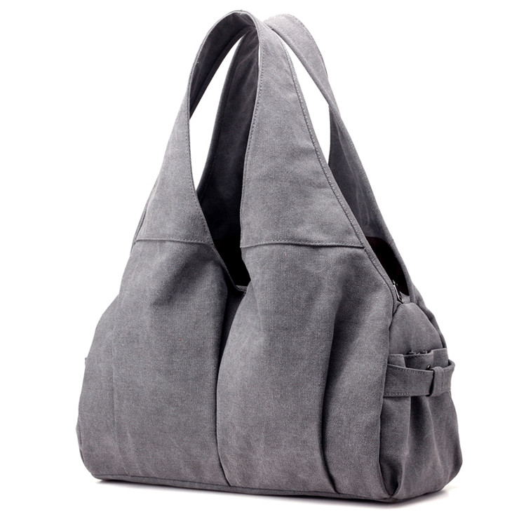 Fashion Quality Customized Waterproof Cotton Women Handbag Interchangeable Shoulder Bag Blank Canvas Tote Bag