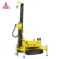 Manufacturer Machine Kaishan KW10 Geothermal Truck Mounted Water Well Drilling Rig