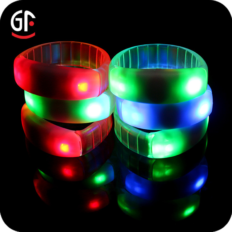 Small Fast Selling Items 433/868/915MHz Silicone Wristband Glam Glow Remote